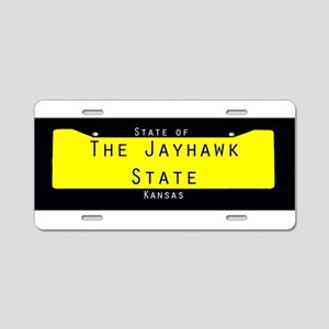 Kansas Nickname #2 Aluminum License Plate