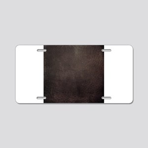 Worn 8 Aluminum License Plate