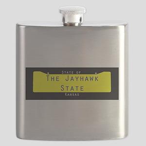 Kansas Nickname #2 Flask