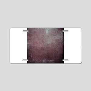 Worn 5 Aluminum License Plate