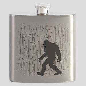Bigfoot In Birch Flask