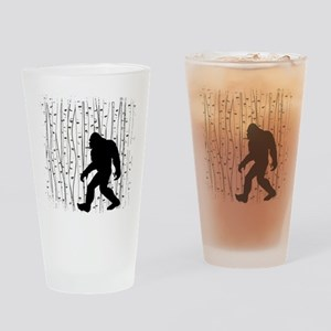 Bigfoot In Birch Drinking Glass