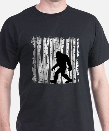 Bigfoot In Birch T-Shirt