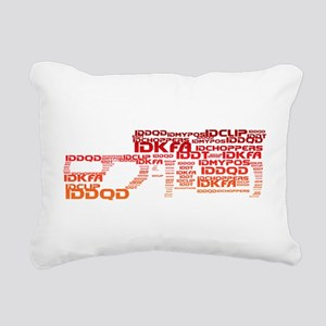 Cheat Code BFG Rectangular Canvas Pillow