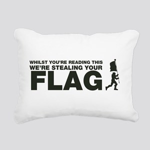 Capture The Flag Rectangular Canvas Pillow