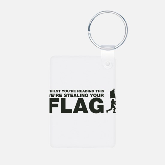 Capture The Flag Keychains