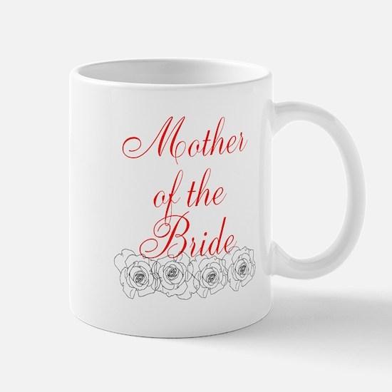 Mother of Bride Roses Mugs