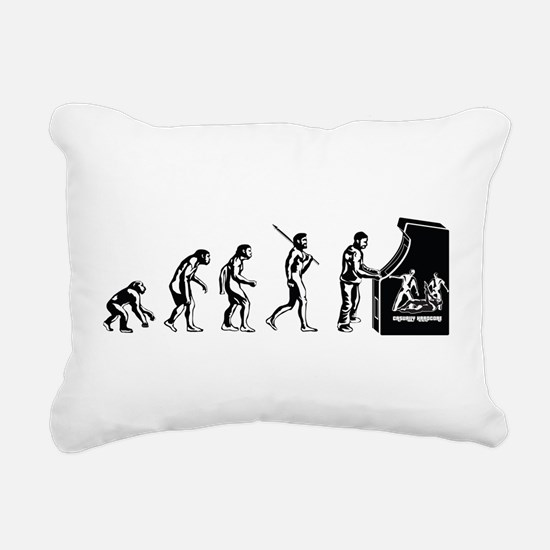 Gamer Evolution Rectangular Canvas Pillow