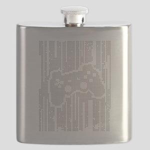 Dot Matrix Pad Flask