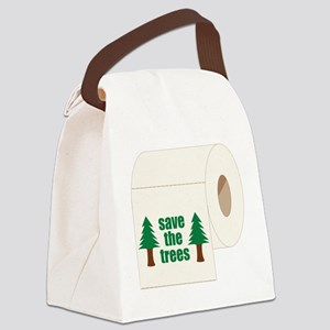 Save The Trees! Canvas Lunch Bag