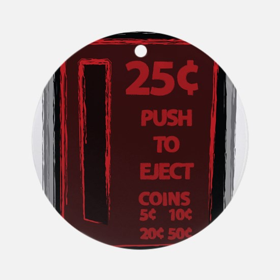 Push To Eject Ornament (Round)