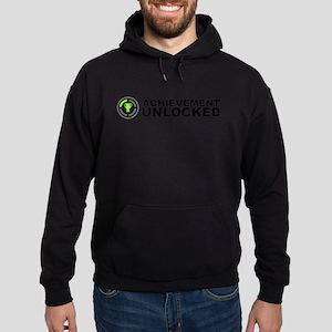 Achievement Unlocked Hoodie (dark)