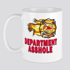 Fire Department Asshole Mug