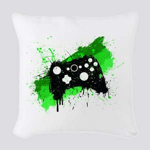 Graffiti Box Pad Woven Throw Pillow