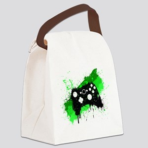 Graffiti Box Pad Canvas Lunch Bag