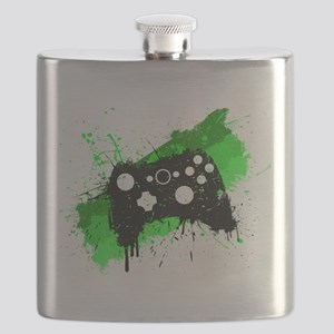 Graffiti Box Pad Flask
