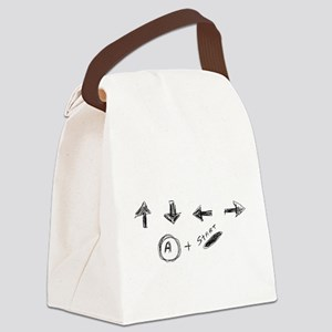 Cheat Code Canvas Lunch Bag