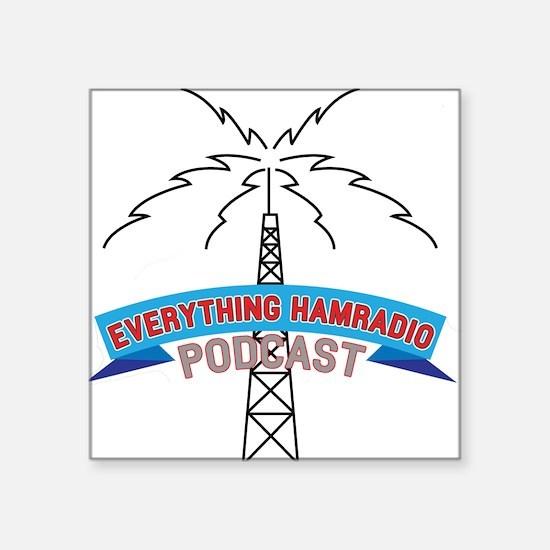 Everything Ham Radio Podcast Logo Sticker