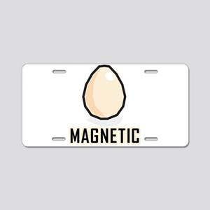 Magnetic Aluminum License Plate