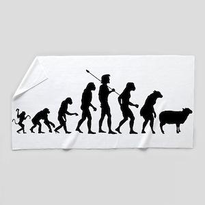 Modern Evolution Beach Towel