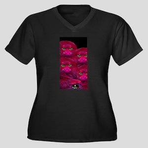 PINK MONKEYS (4) Plus Size T-Shirt