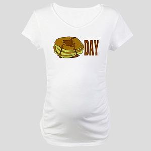 pancakeday Maternity T-Shirt