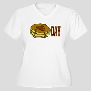 pancakeday.png Plus Size T-Shirt