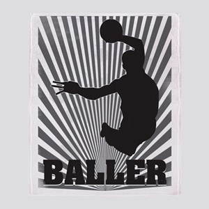 Baller Throw Blanket