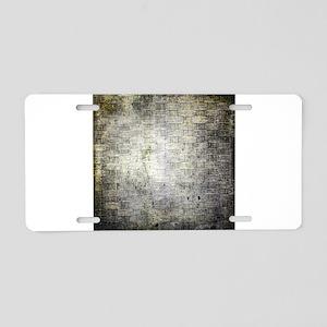 Weave 8 Aluminum License Plate