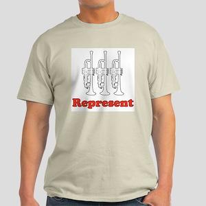"Trumpet ""Represent"" Light T-Shirt"