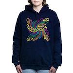 Peace Symbols Hooded Sweatshirt