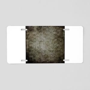 Weave 6 Aluminum License Plate