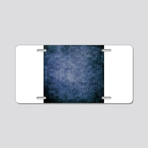 Weave 2 Aluminum License Plate