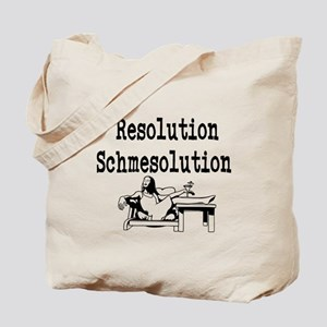 New Years Resolution Tote Bag