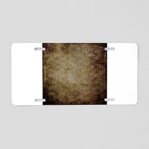 Weave 1 Aluminum License Plate