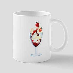 Strawberry Sundae Mugs