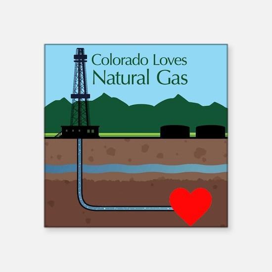 Colorado Loves Natural Gas Sticker