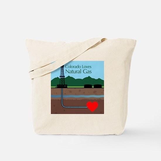 Colorado Loves Natural Gas Tote Bag