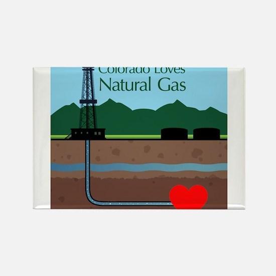 Colorado Loves Natural Gas Magnets