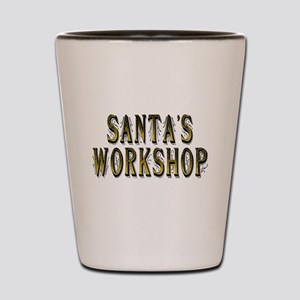 Santas workshop shop Shot Glass