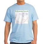 Quadratic Formula Light T-Shirt