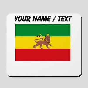 Custom Ethiopian Flag Mousepad