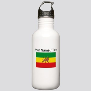Custom Ethiopian Flag Water Bottle