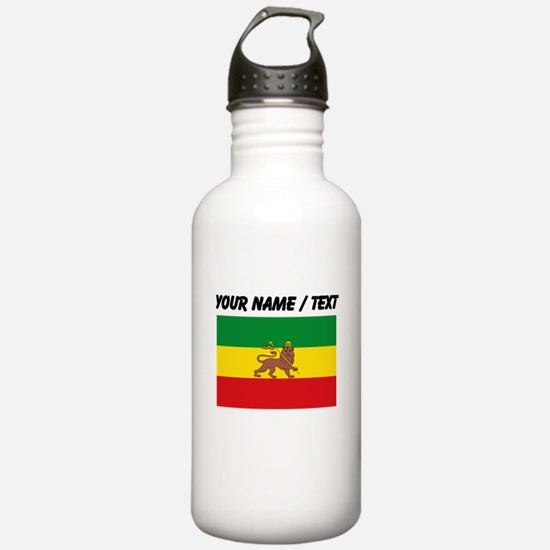 Custom Ethiopian Flag Water Bottle