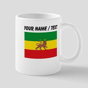 Custom Ethiopian Flag Mugs
