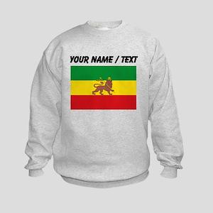 Custom Ethiopian Flag Sweatshirt