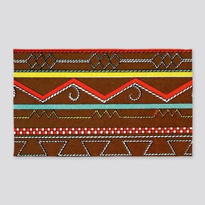 African style 3'x5' Area Rug