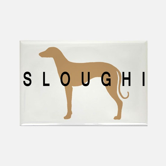 sloughi dog breed Rectangle Magnet (10 pack)
