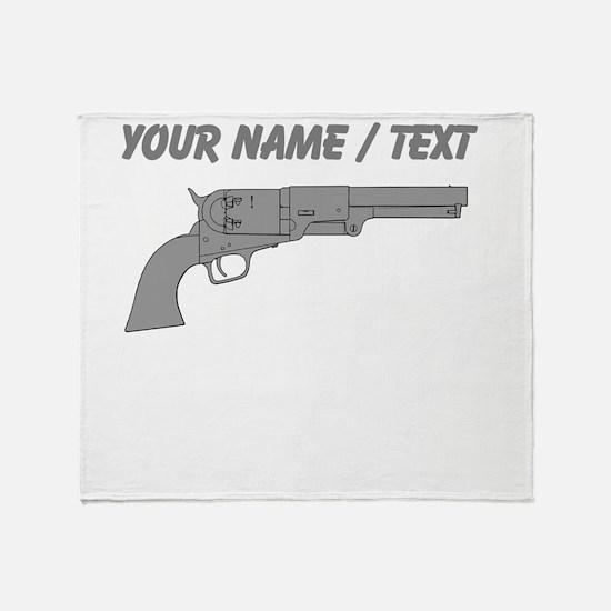 Custom Handgun Throw Blanket