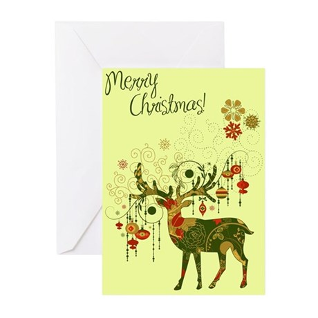 Art Deco Christmas Card (Pk of 20) Greeting Cards